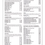 The Grillhouse Menu Whiskies