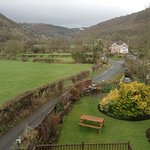 View from bedroom window!