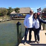 Pier in front of restaurant
