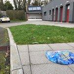 Rubbish left lying around