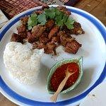 Comida Thai Foto