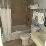 we had used this bathroom prior to the picture, very clean before hand