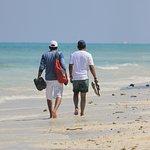 walking on Kalapathar Beach