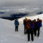 Group on winter hill skills course