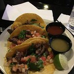 Taco Tuesday and Karaoke! Really good tacos!