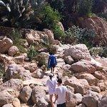 Hiking with JUMA in Wadi Shab