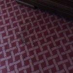 Teppich mit Flecken