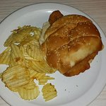 Fish Sandwich with Side Of Chips