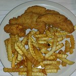 Chicken Tenders with Fries and Slaw