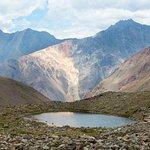 Small lake before the glacier!