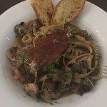 Steak pasta -- YUMMM!