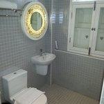 Bad/ Dusche vom Einzelzimmer