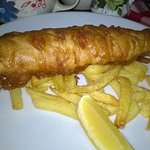 The beautiful fish and chips