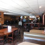 Seating choices include Booths, Tables or Seats at the Bar