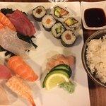 Les makis, sushis, sashimis sont à tomber par terre !!