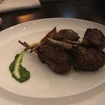 Lamb chops, main course