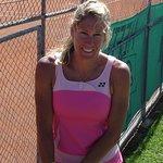 USPTA Certified Elite Tennis Professional and National Champion, Susan Evans!