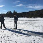 Frozen Lake in March 2017