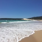 Deserves it's title as one of Europe's best beaches