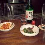 Almost dinner time! Get the Soju!