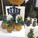 pottery pineapples