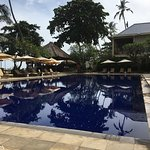 Pool direkt am Hotelstrand und Poolsuite