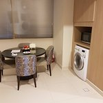 Dining & washing machine