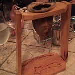 Coffee grounds holder