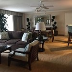 Newport Suite sitting and dining areas