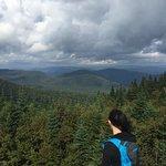 vue au sommet du Mont-Tremblant