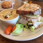 Red Fox Bakery-Cafe - McMinnville, Oregon - Turkey - Gouda sandwich