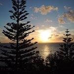 Sunset on Norfolk Island