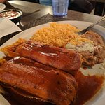 Tamales Jalisco 18.95 Ground corn dough stuffed with Beef, Chicken, or Pork, wrapped in a corn h