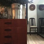 tin, wood and weave, all things natural, all things soothing in the dune hideaway
