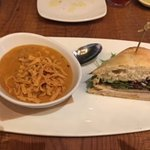 Oven Roasted Turkey and Brie Sandwich with Sedona Tortilla Soup