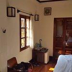 Frangipani room#9 - note additional windows since it's a corner room