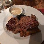Ribeye steak...