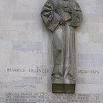 Statue of Heinrich Bullinger