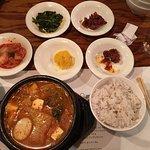 Kimchi and tofu stew