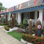 Artifacts outside the Museum