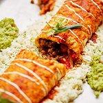 Sharing Burrito