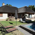 Thatch House with pool