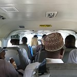 The flight there on Coastal Air had the feel (and capacity) of a minibus on the mainland!