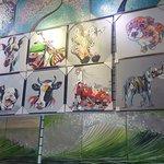 Dafen Painting Village: animals were 200rmb