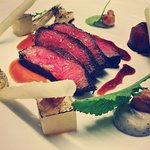 Beef Sirloin with Sauce Madeira and Truffle