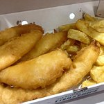 Cod Bites and Chips meal :-)