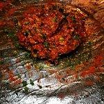 Steak tartare de solomillo de ternera La Esquina del Real
