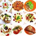 Gourmet Inventive Cuisine Prepared by Chef Monika