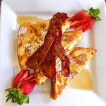 Elvis Toast-Peanut Butter and Banana Stuffed French Toast