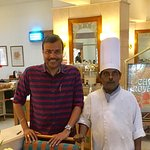 With Dosa Master Murugan